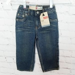 Levi's|NWT 24 Month 526 Loose Straight Fit Jeans